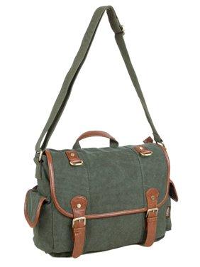 d1dd153503ea Free shipping. Product Image Men Women Vintage Messenger Bag Laptops  Satchel Briefcase Bag Travel Backpack