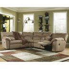 Ashley Furniture Cowan 3 Piece Sectional Sofa In Mocha