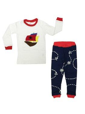 Dabuyu Pirate Children's Pajamas, 18 - 24 Mos