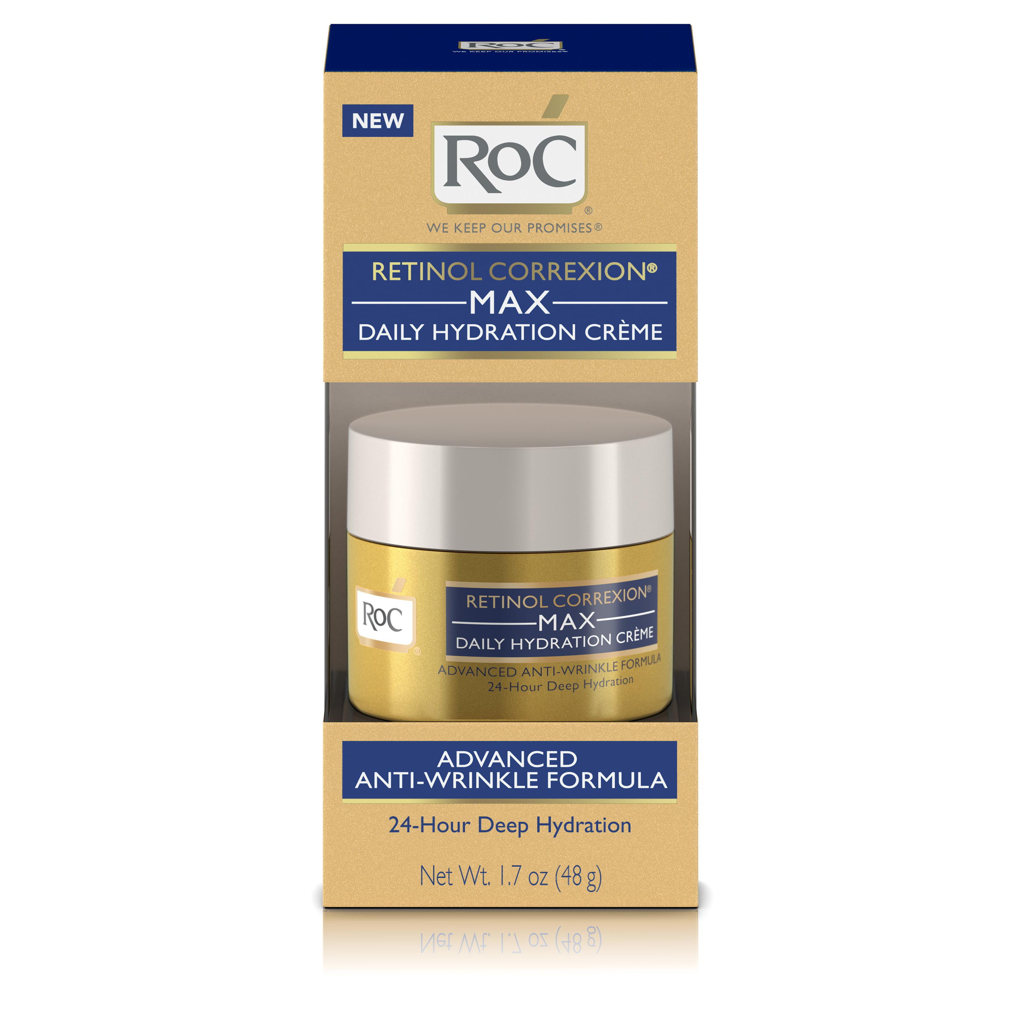 RoC Retinol Correxion Max Daily Hydration Anti-Aging Crème,1.7 oz