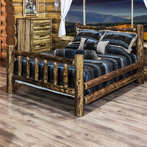 Montana Woodworks Glacier Country Panel Customizable Bedroom Set