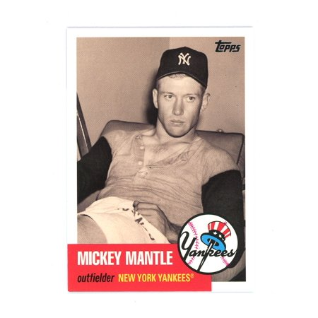 2007 Topps Mickey Mantle Story #MMS18 Yankees Tape Measure Card