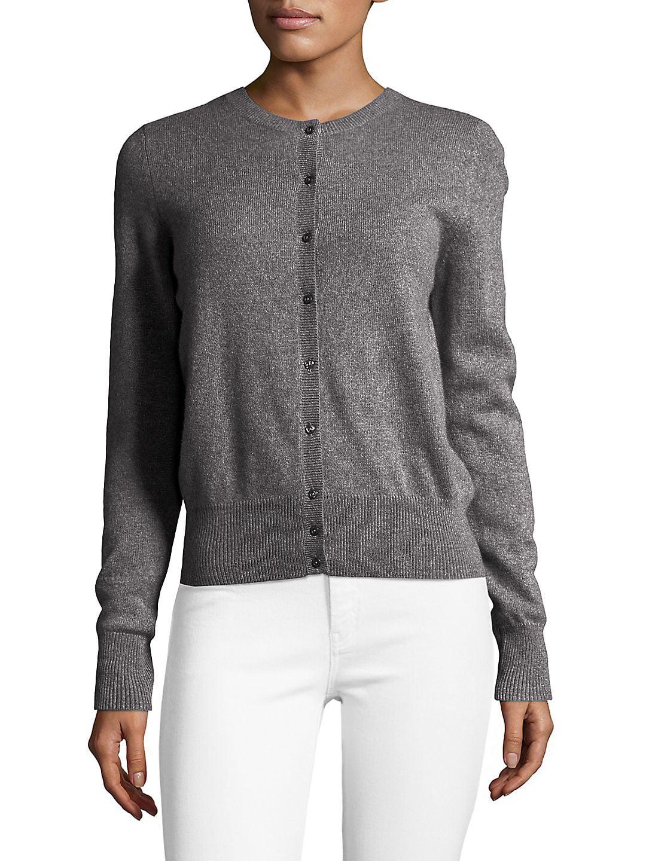Petite Essential Cashmere Cardigan