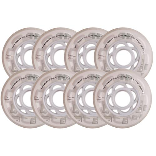 HYPER Inline Wheels SUPERLITE 8-PACK 76MM 82A CLEAR