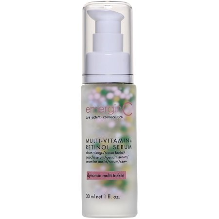 emerginC - MultiVitamin + Retinol Serum with Micro-Encapsulated Spheres + Vitamin C to Help Combat Visible Signs of Aging, Sensitive Skin + Minor Redness (1.0oz /