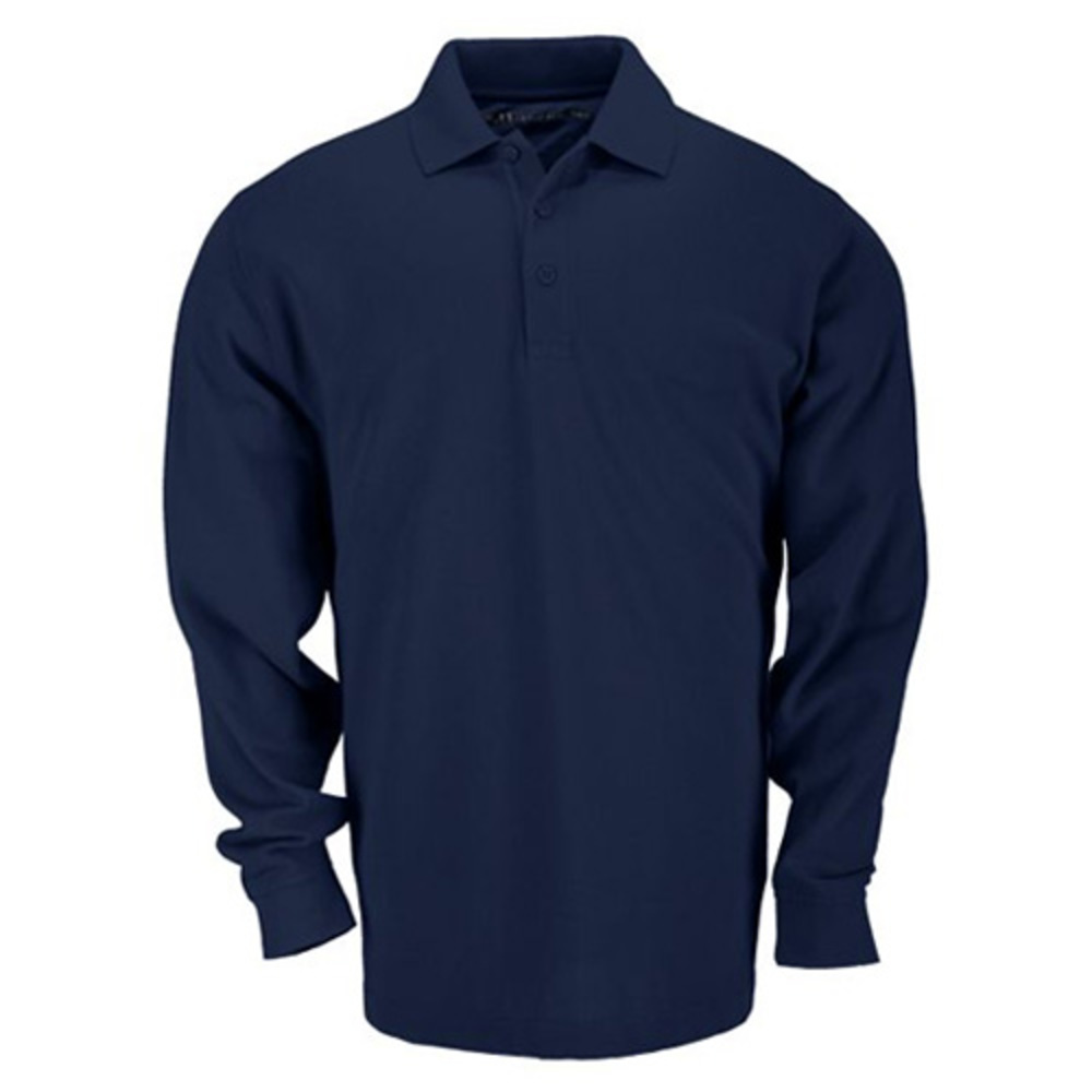 Image of 5.11 Professional Long Sleeve Polo, Dark Navy, XL
