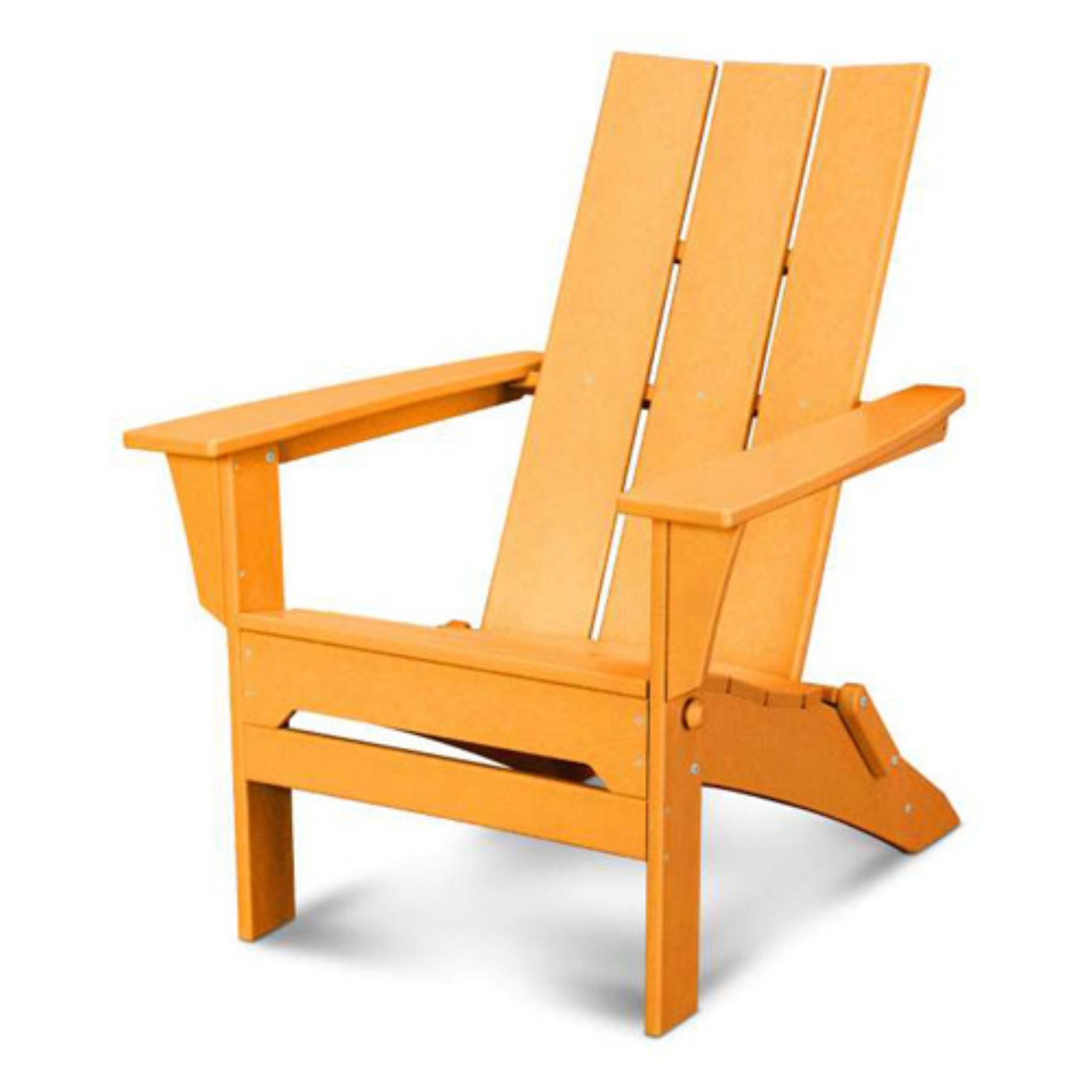 POLYWOOD Modern Folding Adirondack Chair by Poly-Wood