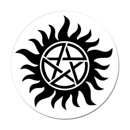 Supernatural Anti Posession Symbol - Vinyl Sticker Waterproof Decal Sticker 5