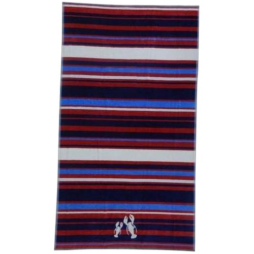 Better Homes and Gardens Oversized Beach Towel, Lobster Stripe