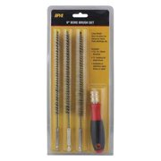 INNOVATIVE PRODUCTS OF AMERICA 8084 Bore Brush Set,Steel,4 pcs.