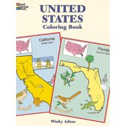 Dover Publications, United States Coloring Book