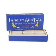 Lanolin Agg Tval Eggwhite Facial Care Soap 6x 1.7 Oz / 50g