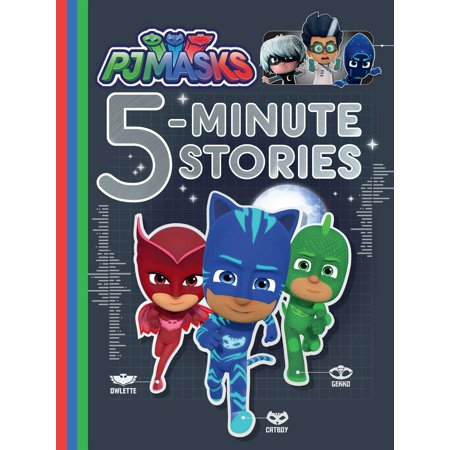 PJ Masks 5-Minute Stories (Go To Sleep Jeff The Killer Story)