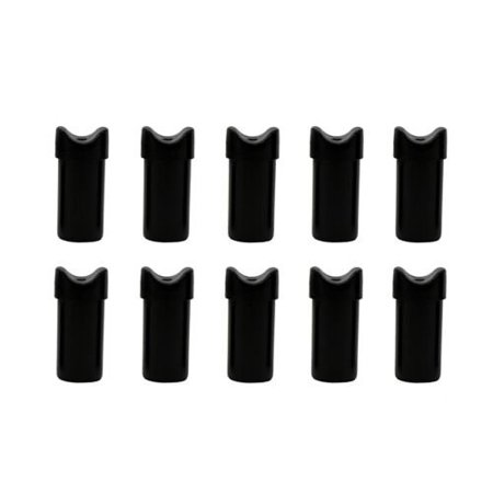 SAS Replacement Half Moon Nock End For Aluminum Crossbow Arrows Bolts - 10/pack