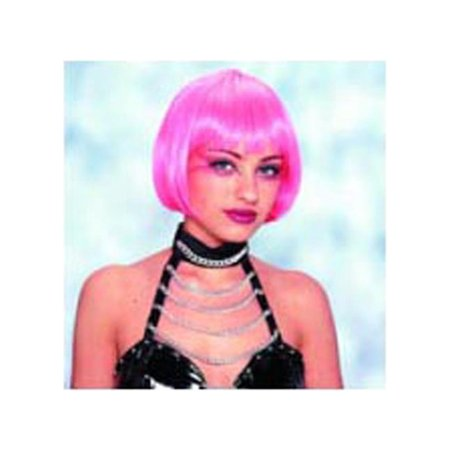 Adult Pink Sassy Wig Franco American Novelties 24537 (Novelty Wig)