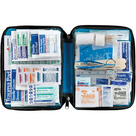 First Aid Only Essentials Kit 299 Piece Fabric Case