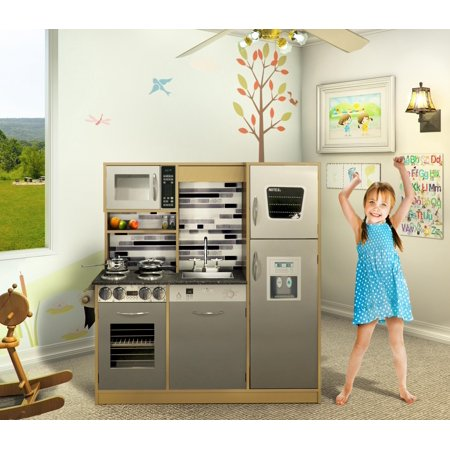 naomi kids gourmet kitchen color natural. Black Bedroom Furniture Sets. Home Design Ideas