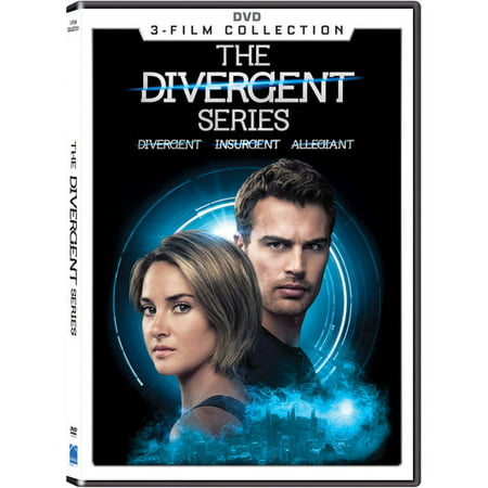The Divergent Series: 3-Film Collection ( (DVD))