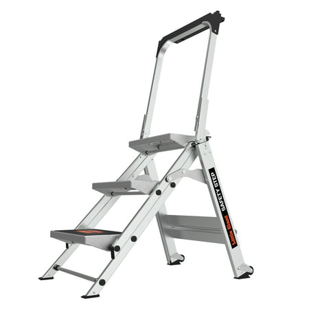 Little Giant Safety Step 3-Step Type 1A Aluminum Step Stool