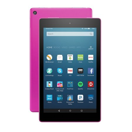 All New Fire Hd 8 Tablet  8  Hd Display  Wi Fi  16 Gb   Includes Special Offers  Magenta