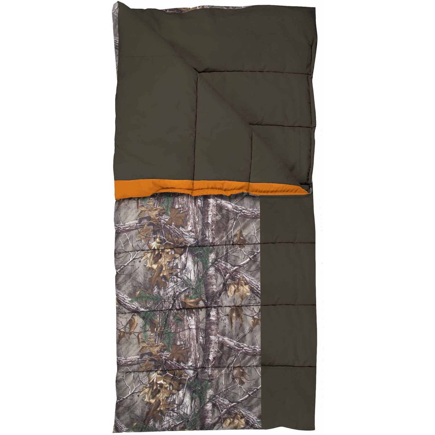 Master Sportsman Pathfinder Realtree Xtra 35-40 Degrees Sleeping Bag, Realtree Xtra by Exxel Outdoors