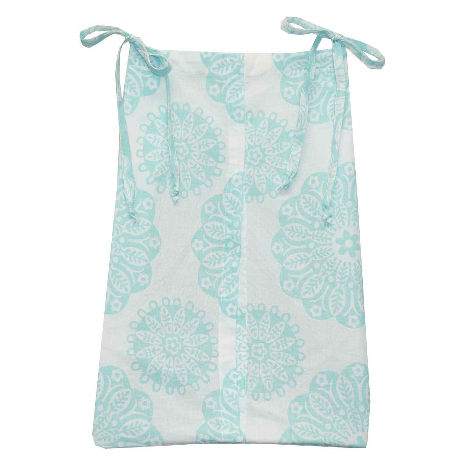 Sweet & Simple Aqua Blue Diaper Stacker by Cotton Tale Designs by Cotton Tale Designs