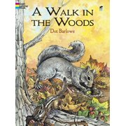 Dover Coloring Books: A Walk in the Woods Coloring Book (Paperback)