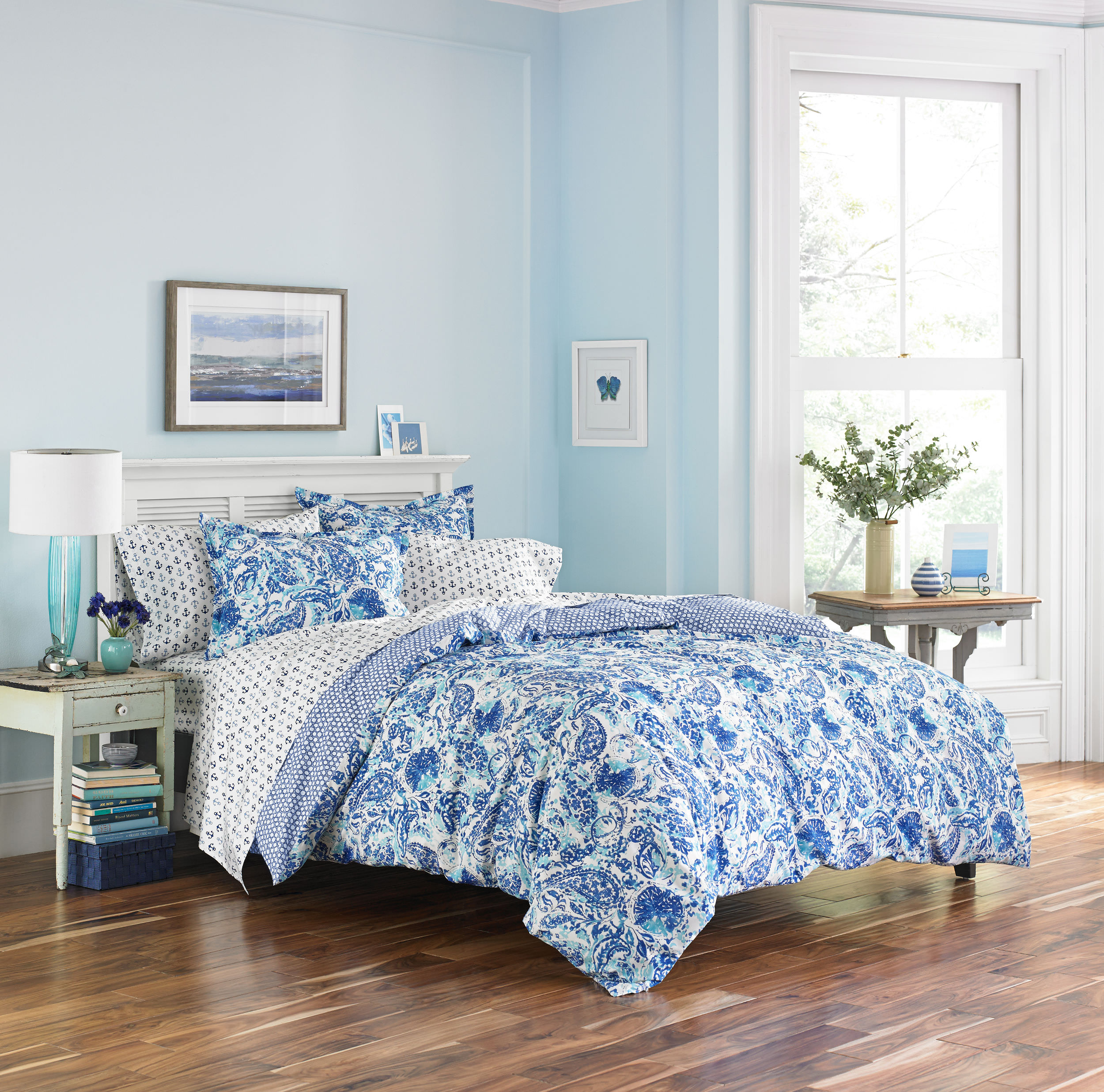 Poppy & Fritz Brooke Comforter Set, Twin