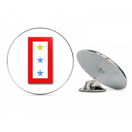 ONE GOLD AND TWO BLUE STAR' SERVICE FLAG  Steel Metal 0.75
