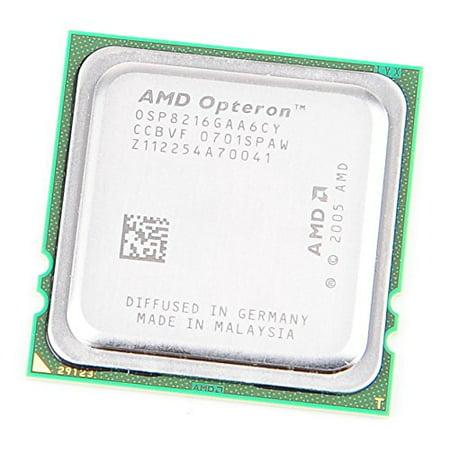 AMD 8216 AMD OPTERON 8216 HE Dual Core CPU OSP8216GAA6CY / 2x 2.4 GHz / 2x