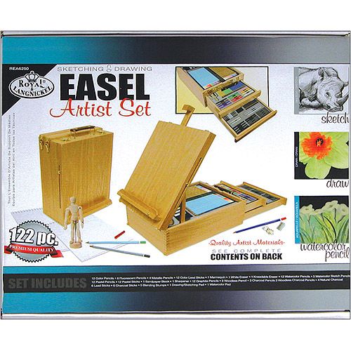 Easel Artist Set, Sketching & Drawing