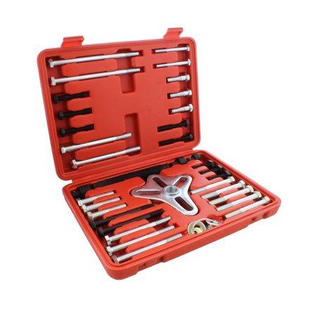 ABN Harmonic Balancer Puller Tool 46pc Flywheel Crankshaft Pulley Steering (Chevy Suburban Harmonic Balancer)