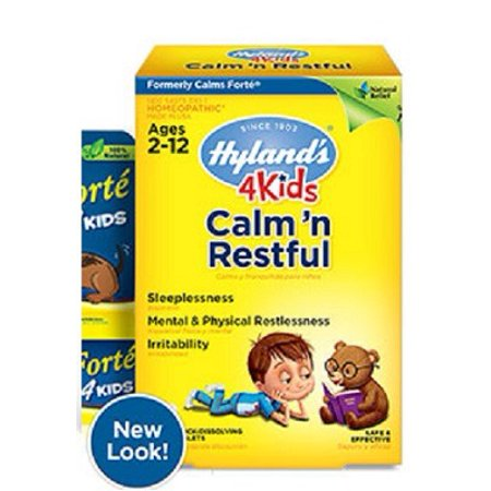 Calm N Restful 4 Kids Hylands 125 Tabs