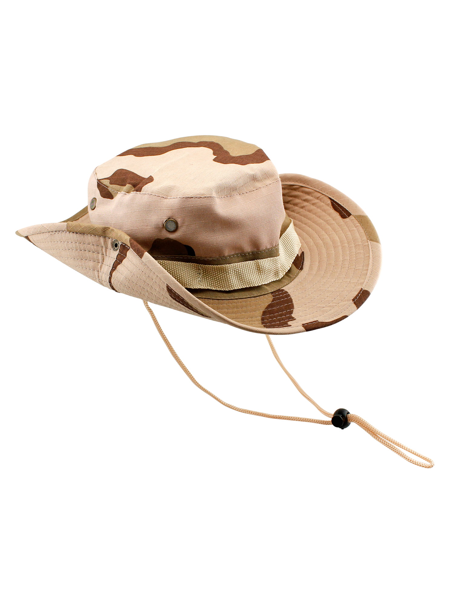 Fishing Hunting Bucket Hat Boonie Outdoor Cap Washed Cotton Safari ...
