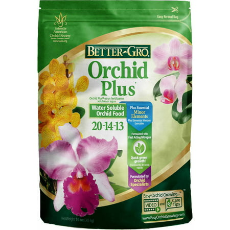Better-Gro Orchid Plus Plant Food, 1 lbs