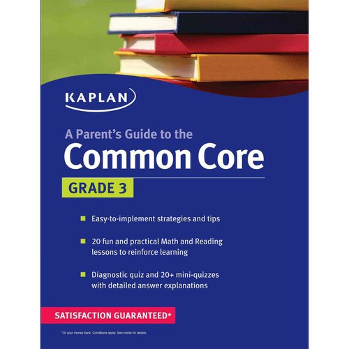 Kaplan a Parent's Guide to the Common Core: Grade 3