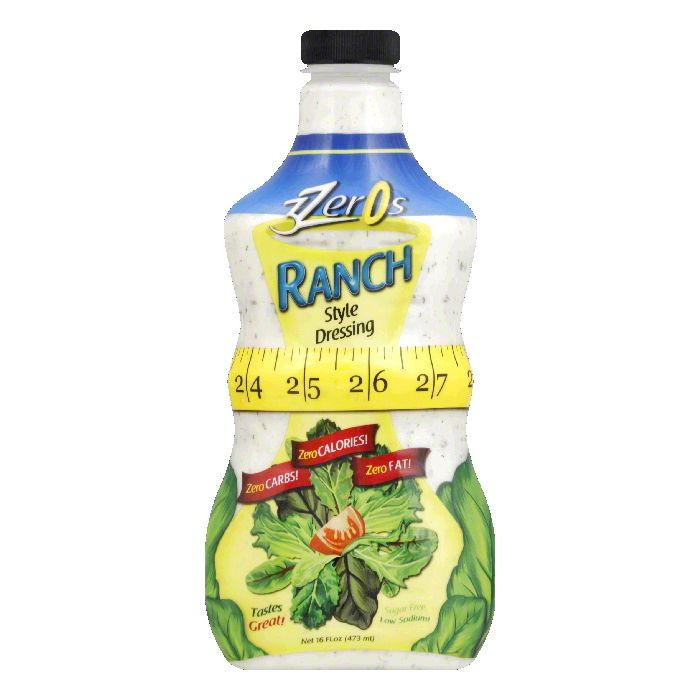 Image of 3ZEROS DRESSNG RANCH, 16 FO (Pack of 6)