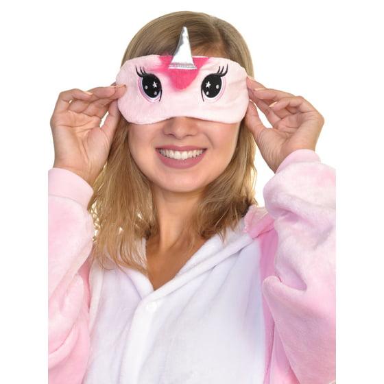 14d95a49a01 Angelina Cozy Unicorn Unicorn Sleep Mask and Slipper Set (1-Pack) -  Walmart.com