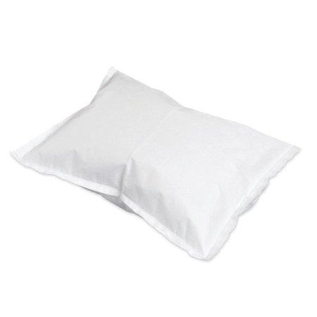 (Pillowcase McKesson  Standard, White, Disposable, 21 x 30 Inches, Case of 100)