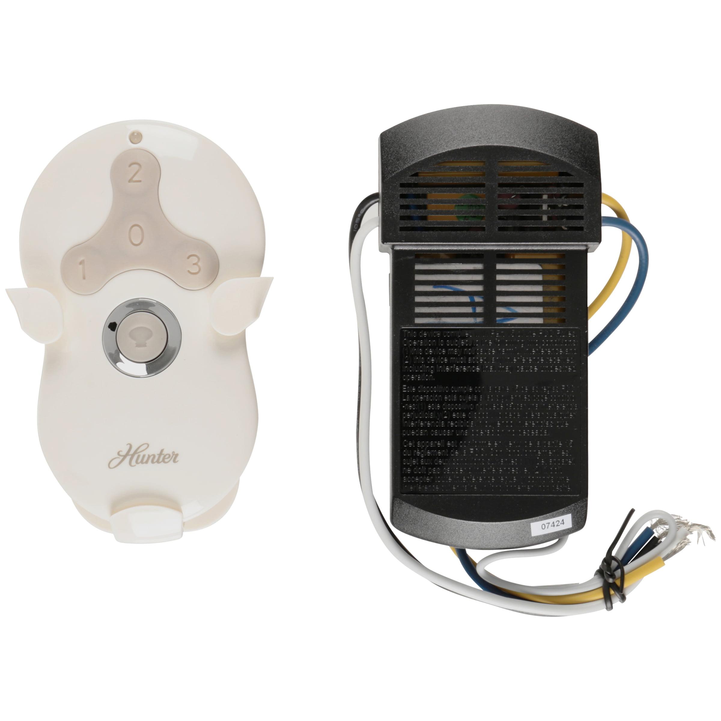 Hunter Fan Company 99122 Universal 3-Speed Ceiling Fan/Light Remote Control