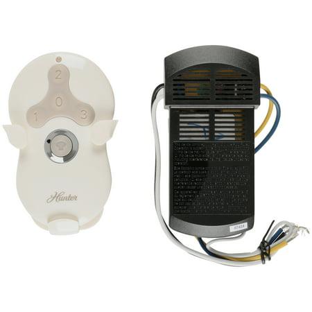 Hunter Fan Company 99122 Universal 3-Speed Ceiling Fan/Light Remote