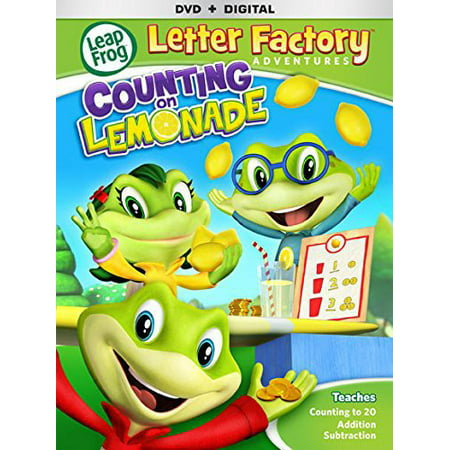 Frog Fully Rely On God (LEAPFROG LETTER FACTORY ADVENTURES-COUNTING ON LEMONADE (DVD) (WS/ENG/5.1DD)