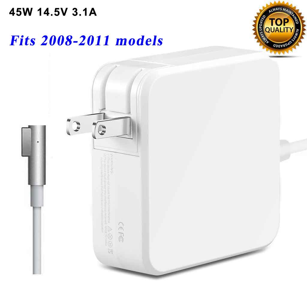 45W A1374 A1244 Power Adapter Charger for 2007 2008 2009 2010 2011 Apple MacBook Air A1369 A1370 (ZA-APPLE-45W-MS1)
