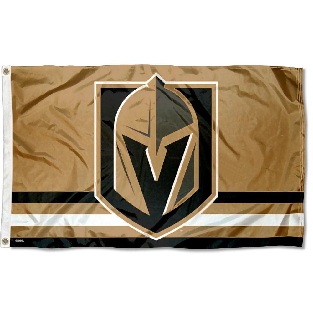 Vegas Golden Knights Gold NHL Flag