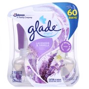 Glade PlugIns Scented Oil Air Freshener Refill, Lavender & Vanilla, 2 count, 1.34 Ounces