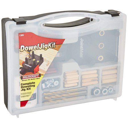 - 1309 DowelJigKit -Walmartplete Doweling Kit with Dowel Pins and Bits, The Milescraft JointMate allows for quick and accurately doweled corner, edge.., By Milescraft,USA