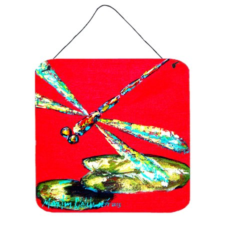 Insect - Dragonfly Shoo-Fly Aluminium Metal Wall or Door Hanging Prints ()