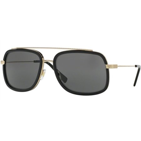 Versace VE2173 125287 60MM (Black Gold Versace Sunglasses)