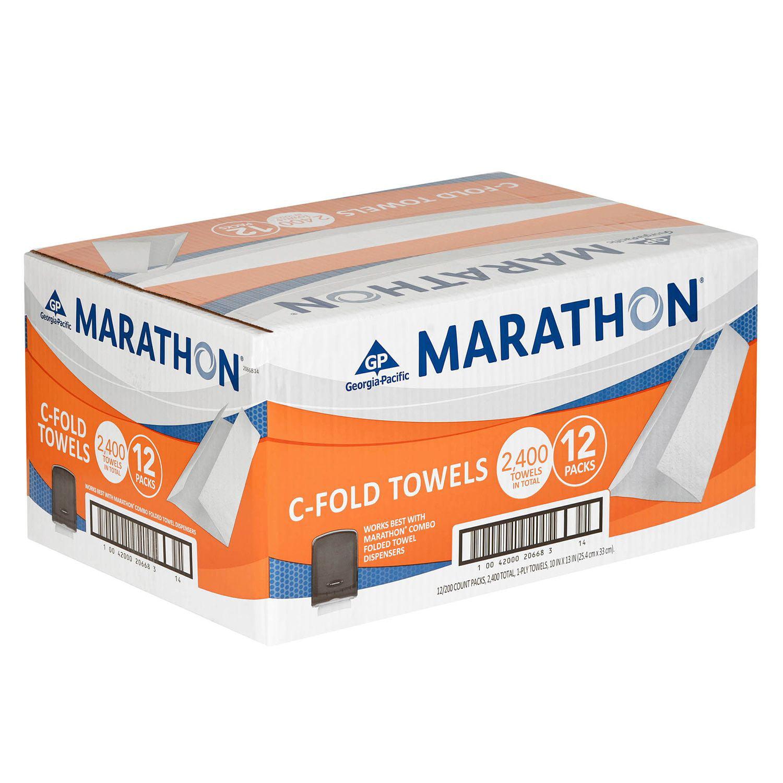 Marathon C-Fold Paper Towels - 2,400 ct.