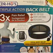 DR-HO'S Triple Action Back Belt TENS